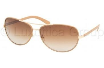 Tory Burch TY6013Q TY6013Q Progressive Prescription Sunglasses TY6013Q-944-13-6014 - Lens Diameter: 60 mm, Frame Color: Coconut Leather