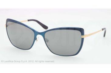 Tory Burch TY6028 Progressive Prescription Sunglasses TY6028-4876G-59 - Lens Diameter 59 mm, Lens Diameter 59 mm, Frame Color Navy