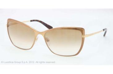 Tory Burch TY6028 Progressive Prescription Sunglasses TY6028-492-5A-59 - Lens Diameter 59 mm, Lens Diameter 59 mm, Frame Color Almond