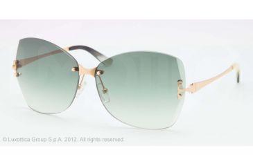 Tory Burch TY6030 Sunglasses 1068E-61 - Gold Frame, Green Gradient Lenses