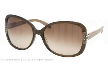 Tory Burch TY7022 Progressive Prescription Sunglasses TY7022-938-13-59 - Lens Diameter 59 mm, Frame Color Olive Khaki