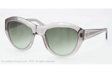 9a71c1d04639 Tory Burch TY7037 Sunglasses 708 8E-55 - Transparent Grey Frame
