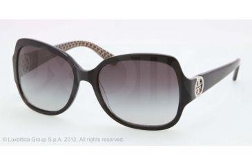 Tory Burch TY7059 Progressive Prescription Sunglasses TY7059-114511-57 - Lens Diameter 57 mm, Frame Color Black Stich TY