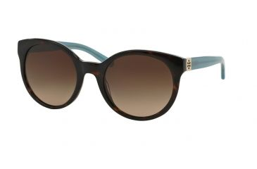 21e96fcd9 Tory Burch TY7079 TY7079 Sunglasses 135913-54 - Tortoise/milky Fountain  Frame, Dark