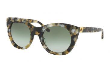 928121013eb Tory Burch TY7097 Sunglasses 16128E-52 - Pearl Tokyo Tort Frame