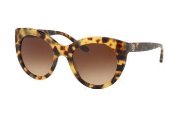 2e90e49fe72c Tory Burch TY7115 Sunglasses 170674-51 - Tokyo Tort Frame, Light Brown  Gradient Dark