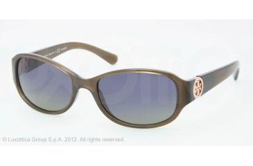 Tory Burch TY9013 TY9013 Progressive Prescription Sunglasses TY9013-104937-56 - Lens Diameter 56 mm, Frame Color Light Olive