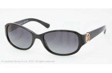 Tory Burch TY9013 TY9013 Progressive Prescription Sunglasses TY9013-501-T3-56 - Lens Diameter 56 mm, Frame Color Black