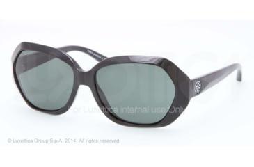 Tory Burch TY9021 TY9021 Single Vision Prescription Sunglasses TY9021-50171-57 - Lens Diameter 57 mm, Frame Color Black