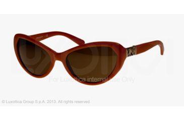 Tory Burch TY9030 Progressive Prescription Sunglasses TY9030-123473-59 - Lens Diameter 59 mm, Frame Color Orange