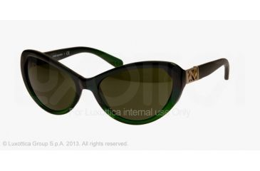 Tory Burch TY9030 Progressive Prescription Sunglasses TY9030-124871-59 - Lens Diameter 59 mm, Frame Color Blue Green Fade