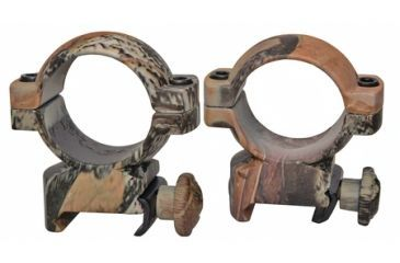 Traditions 1 Inch Aluminum Scope Ring High Mossy Oak Break-Up Camouflage