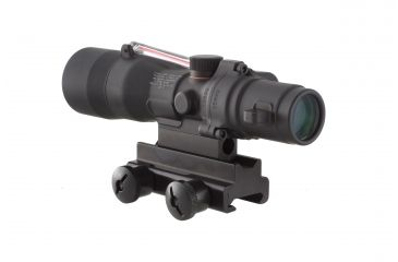 Trijicon ACOG 3x30 Illuminated Riflescope, Red Chevron .308 Ballistic Reticle TA33R-9