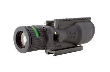 Trijicon ACOG 6x48 Dual Ill Riflescope w/Mount, Green Chevron BAC .223 Reticle TA648-G