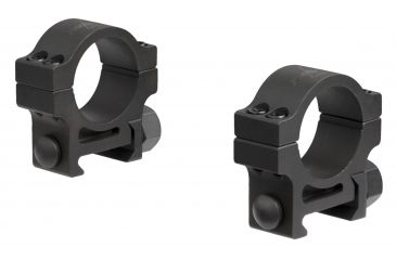 6-Trijicon 1 in. Steel Rings for AccuPoint Riflescope - Extra High TR102 or Standard TR103