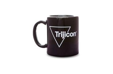 Trijicon 11oz. Black Coffee Mug with White Outline Logo PR52