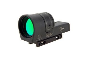 Trijicon 42mm Reflex 6pt5 Moa Amber Dot Sight Black Weaver Mount Rx30 11 Front V1