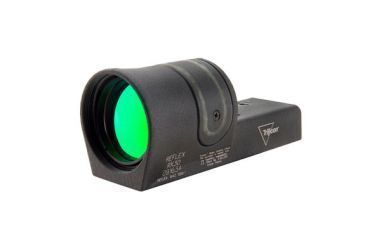 Trijicon 42mm Reflex Amber 4pt5 Dot Reticle Sight No Mount Rx34 Front V1