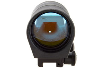 Trijicon 42mm Reflex Amber 4pt5 Moa Dot Reticle Sight Black W Flattop Mount Rx34 14 Fullfront V2