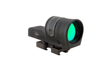 Trijicon 42mm Reflex Amber 4pt5 Moa Dot Reticle Sight Black W Flattop Mount Rx34 14 Main