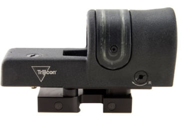 Trijicon 42mm Reflex Amber 4pt5 Moa Dot Reticle Sight Black W Flattop Mount Rx34 14 Side V3