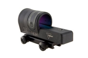 Trijicon 42mm Reflex Amber 4pt5 Moa Dot Reticle Sight Black W Ta51 Flattop Mount Rx34a 51 Back V6