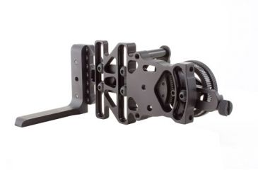 7-Trijicon AccuDial Mount w/Sight Bracket & Rail Adapter, Right/Left Hand