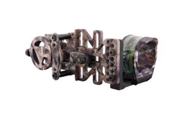 Trijicon AccuPin Bow Sight - Green w/Dovetail Base & AccuDial Mount, Right Hand, Lost BW50G-LS