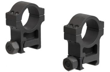 3-Trijicon 1 in. Steel Rings for AccuPoint Riflescope - Extra High TR102 or Standard TR103