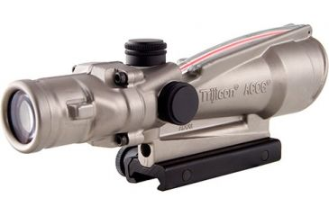 Trijicon ACOG 3.5x35 Nickel Boron Dual Illum. Red Crosshair .223 Ballistic Reticle w/ TA51 Mount TA11-D-100204
