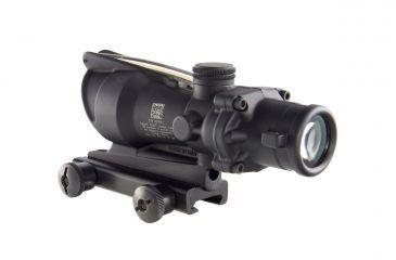 Trijicon ACOG 4x32 Dual Ill Riflescope w/Mount, Amber Horseshoe .223 Reticle