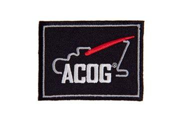 Trijicon Acog Ap59 Velcro Patch w/  Logo, Black AP59