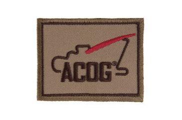 Trijicon Acog Ap60 Velcro Patch w/  Logo, Khaki AP60