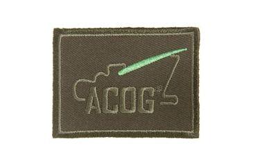 Trijicon Acog Ap61 Velcro Patch w/  Logo, Olive AP61