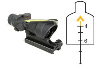 Trijicon ACOG 4x32 Advanced Combat Scope - Amber Chevron Reticle