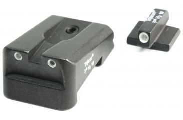 Trijicon Colt Enhanced Gov't, 3 Dot Green Front & Yellow Rear Night Sights