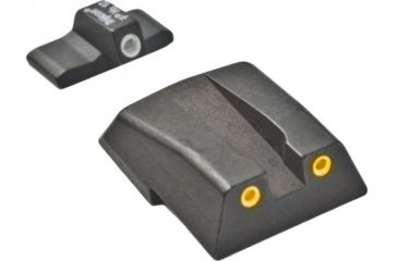 Trijicon Hk .45 3 Dot Night Sight Set w/ Orange Rear HK11O