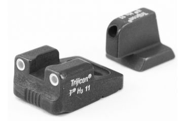 Trijicon Night Sight Sets, Green Front & Yellow Rear for Remington - RE01Y