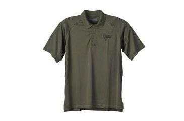 Trijicon Performance Polo Short Sleeve Shirt - Small, Green AP24S