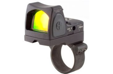 Trijicon Rmr Sight Adjustable Led 3pt25 Moa Red Dot Sight Rm36 Acog Mount Rm06 36 Front V1