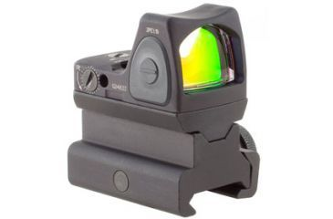 Trijicon Rmr Sight Adjustable Led 3pt25 Moa Red Dot Sight W Rm34 Picatinny Rail Mount Rm06 34 Main