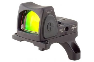 Trijicon Rmr Sight Adjustable Led 3pt25 Moa Red Dot Sight W Rm35 Acog Mount Rm06 35 Front V1