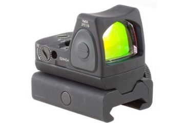 Trijicon Rmr Sight Adjustable Led 3pt25 Moa Red Dot Sight W Weaver Rail Mount Rm06 34w Main