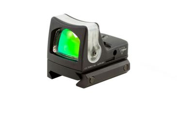 Trijicon Rmr Dual Illuminated 9 Moa Amber Dot Sight Picatinny Rail Mount Rm05 33 Front V1