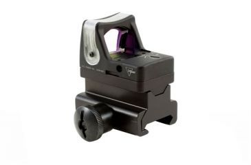 Trijicon Rmr Dual Illuminated 9 Moa Amber Dot Sight Picatinny Rail Mount Rm05 34 Side V3