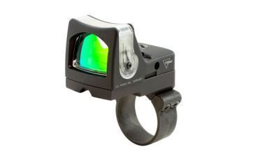 Trijicon Rmr Dual Illuminated 9 Moa Amber Dot Sight W Acog Mount Rm05 36 Front V1