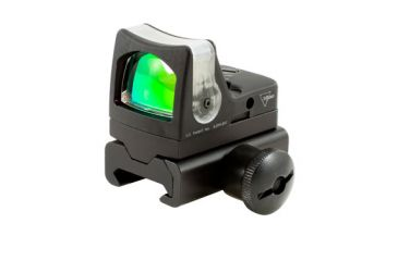 Trijicon Rmr Dual Illuminated 9 Moa Amber Dot Sight Weaver Rail Mount Rm05 34w Front V1