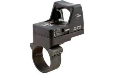 Trijicon Rmr Led 3pt25 Moa Red Dot Sight Black Acog Mount Rm01 36 Back V2