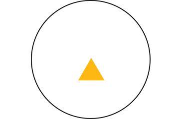 Trijicon RX06-10 Reflex 12.5 MOA Amber Triangle Reticle Sight w/ M16 Handle Mount