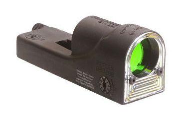 Trijicon RX09 Cyalume Reflex Night Sight - Cyalume Amber Chevron Reticle without Mount